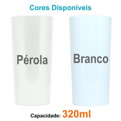 Copos Personalizados Long Drink 320ml Impressão Colorida